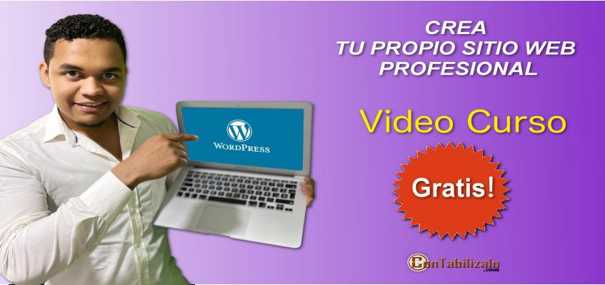 Curso creación de sitio web desde cero Wordpress