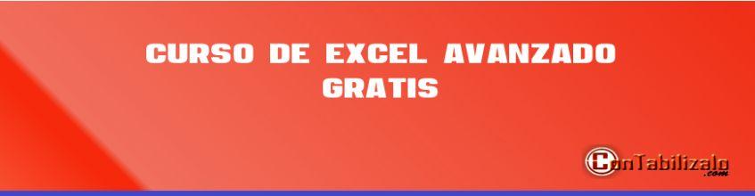 Curso de Excel Avanzado Gratis