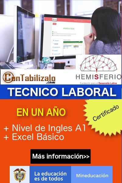 Formación técnico laboral Colombia