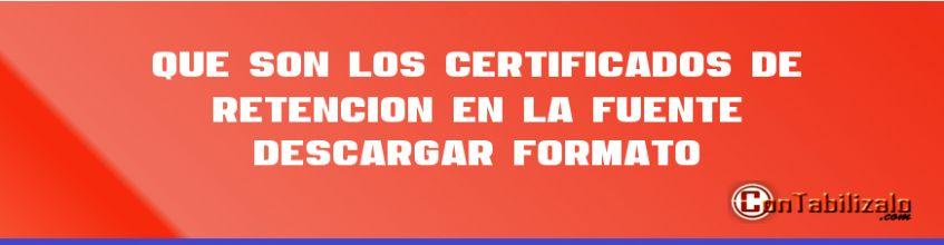 formato de certificados